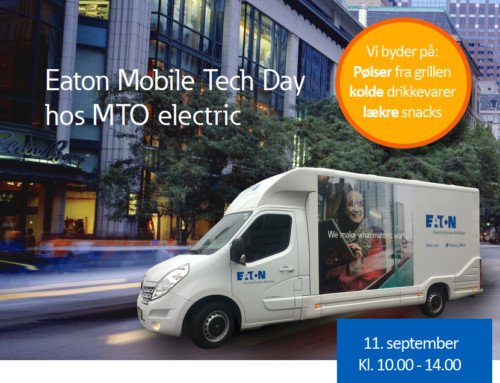 *UDLØBET* Invitation: Kom til EATON Mobile Tech Day hos MTO