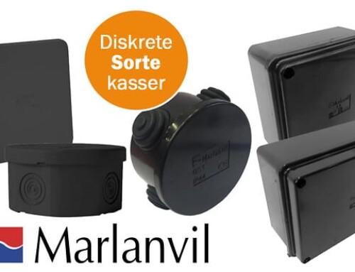 """Vi gør det """"swåt"""" – Hurtig og nem kabelføring med diskrete, sorte kasser fra MTO"""