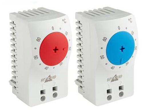 Forbedrede STEGO-termostater for køle- eller varmestyring